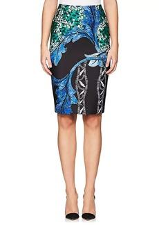Yigal Azrouel Women's Floral Neoprene Pencil Skirt