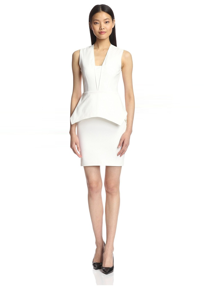 Yigal Azrouel Women's Peplum Dress