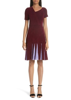 Yigal Azrouel Yigal Azrouël Asymmetrical Chenille Dress