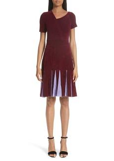 Yigal Azrouel Yigal Azrouël Asymmetrical Chenille Dress