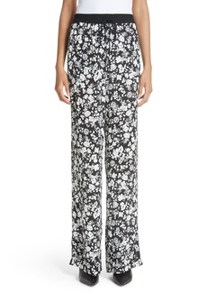 Yigal Azrouel Yigal Azrouël Celosia Floral Print Track Pants