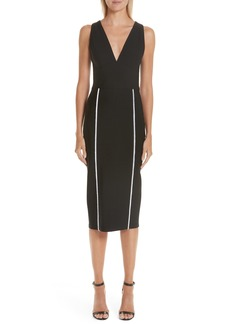Yigal Azrouel Yigal Azrouël Contrast Trim Body-Con Dress