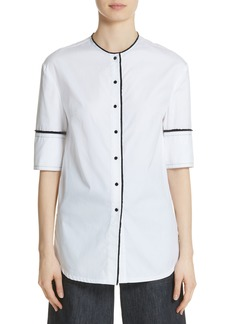 Yigal Azrouel Yigal Azrouël Crop Back Poplin Shirt