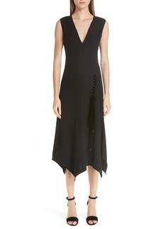 Yigal Azrouel Yigal Azrouël Lace-Up Asymmetrical Dress
