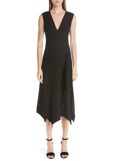 Yigal Azrouel Yigal Azrouël Lace-Up Asymmetrical Dress