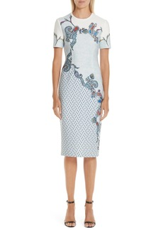 Yigal Azrouel Yigal Azrouël Paisley Print Scuba Dress