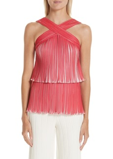 Yigal Azrouel Yigal Azrouël Tiered Origami Pleat Top