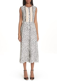 Yigal Azrouel Yigal Azrouël Wrap Detail Pleated Dress (Nordstrom Exclusive)