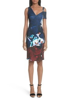Yigal Azrouel Yigal Azrouël Cold Shoulder Scuba Dress
