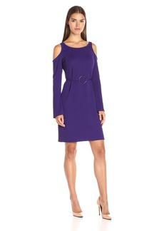 Yoana Baraschi Women's City of Lights Cold Shoulder Mini Dress