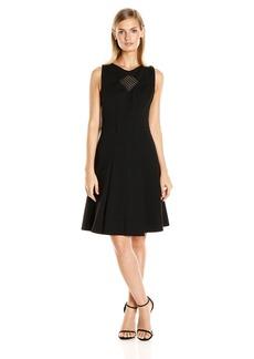 Yoana Baraschi Women's Odeon Compression Knit Flare Dress
