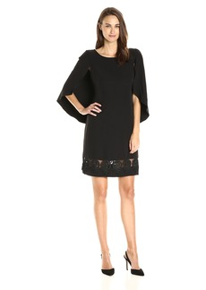 Yoana Baraschi Women's Ritz Capelet Dress with Lace