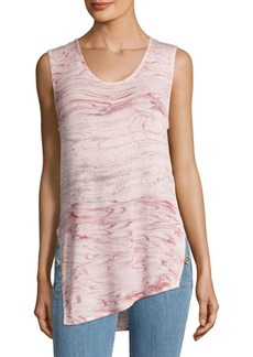 Young Fabulous & Broke Abstract Designed Tank Top