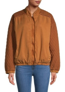 Young Fabulous & Broke Diamond Quilted Jacket