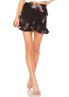 Young Fabulous & Broke Flutter Skirt