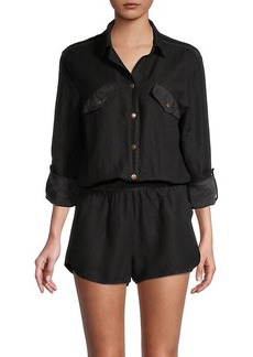 Young Fabulous & Broke Noah Shirt Romper