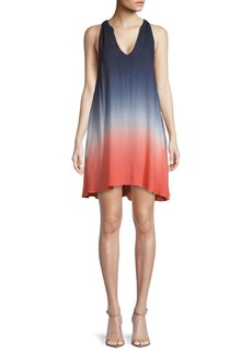 Young Fabulous & Broke Ombre V-Neck Dress