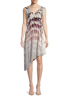 Young Fabulous & Broke Printed Asymmetric Dress