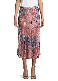 Young Fabulous & Broke Tie-Dye Midi Skirt