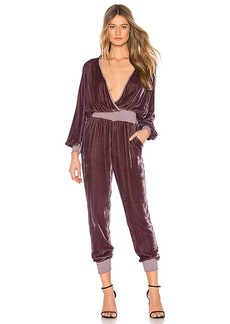 Young Fabulous & Broke Young, Fabulous & Broke Ambrosia Velvet Jumpsuit