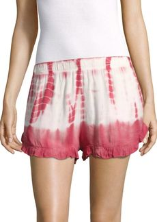 Young Fabulous & Broke Romy Tie-Dye Printed Shorts