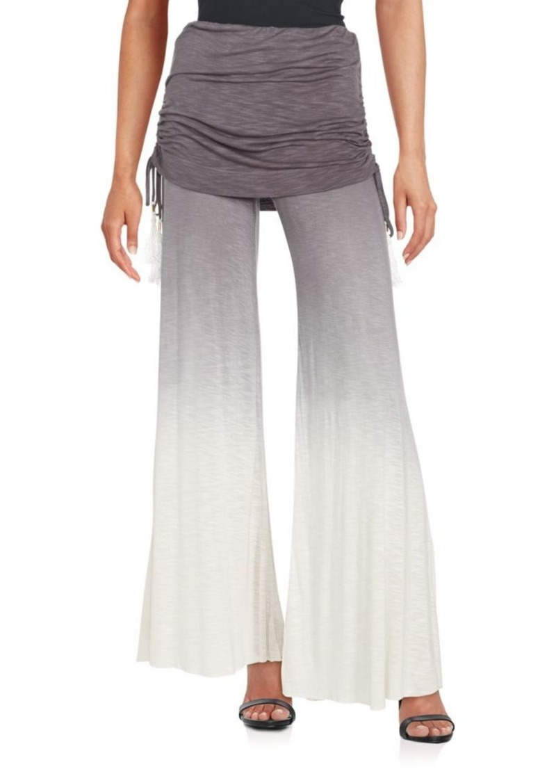 Young Fabulous & Broke Sierra Ruched Wide Leg Pants