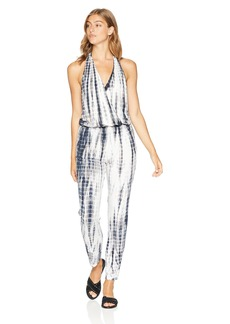 Young Fabulous & Broke Women's Birdseye Jumpsuit Navy/SDW M