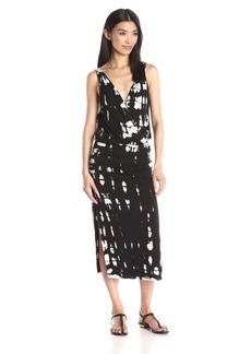 Young Fabulous & Broke Women's Cala Surplus Sleeveless Crocodile Wash Dress