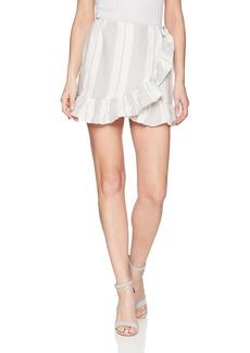 Young Fabulous & Broke Women's Flutter Skirt  S