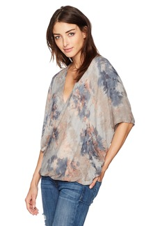 Young Fabulous & Broke Women's H Top Dove/geo wash M
