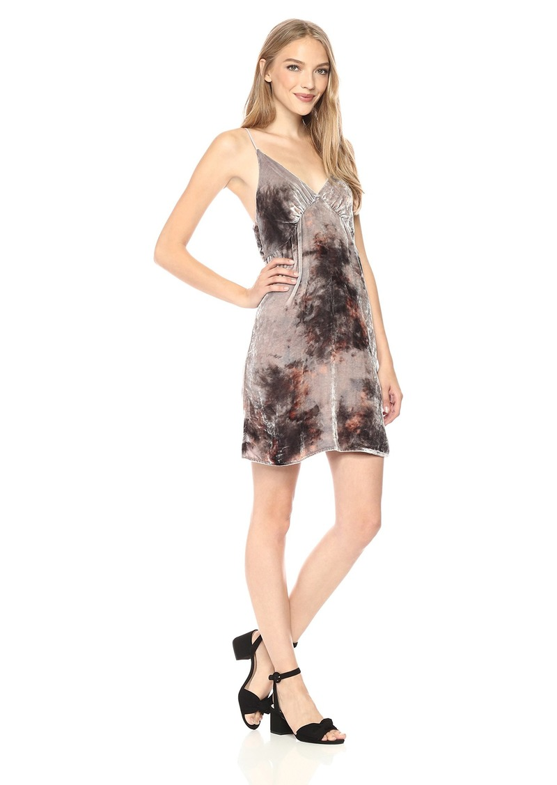 Young Fabulous & Broke Women's Lexington Velvet Dress  L