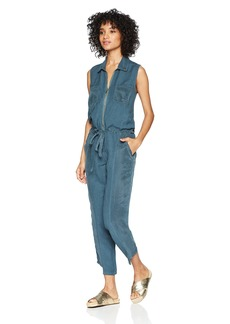 Young Fabulous & Broke Women's Linette Jumpsuit sea Blue L