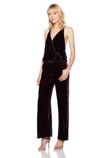 Young Fabulous & Broke Women's Naomi Velvet Jumpsuit  L