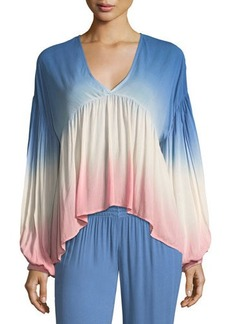 Young Fabulous & Broke Young Fabulous and Broke Kendra V-Neck Ombré Top