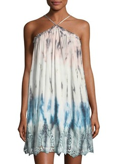 Young Fabulous & Broke Young Fabulous and Broke Lissa Strapless Jersey Ombre High-Low Dress