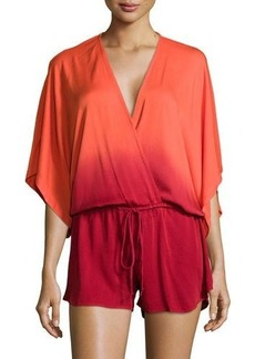Young Fabulous & Broke Young Fabulous and Broke Maddie Ombre Wrap Romper