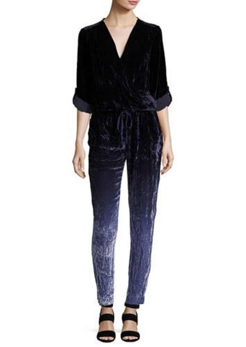 Young Fabulous & Broke Young Fabulous and Broke Zander Velvet Ombre Jumpsuit