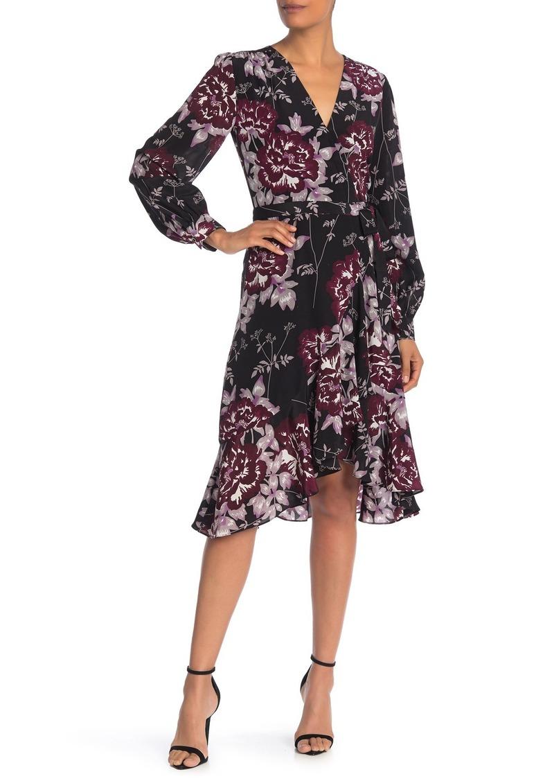 Yumi Kim Casanova Long Sleeve Ruffled Wrap Dress