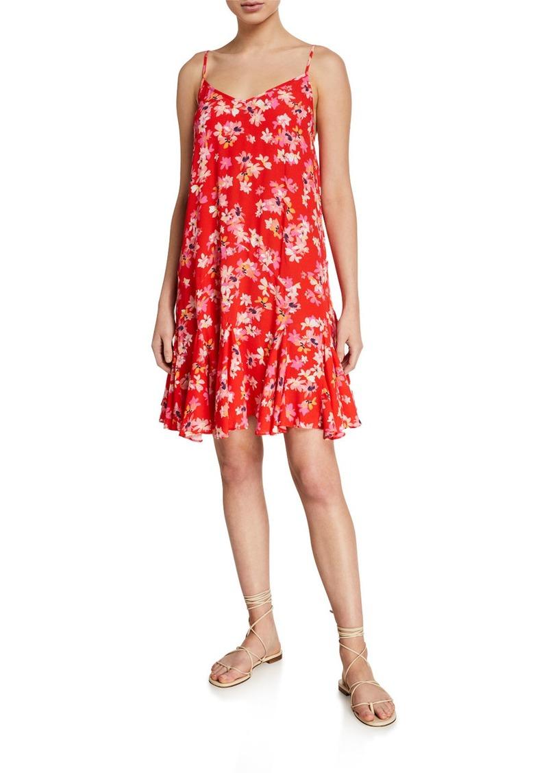 Yumi Kim Destination Floral Godet Dress