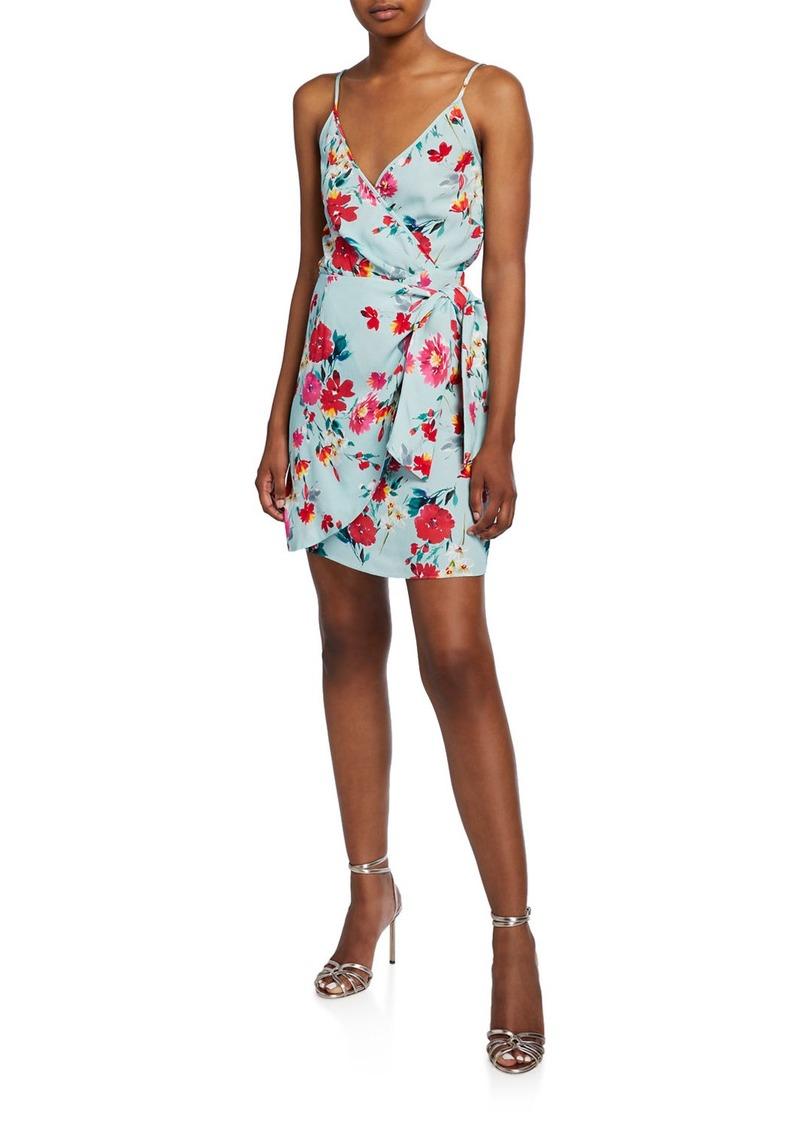 Yumi Kim Island Time Sleeveless Floral Wrap Dress
