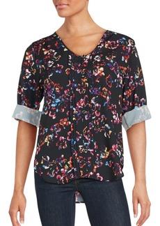 Yumi Kim Lizzie Floral Print Top