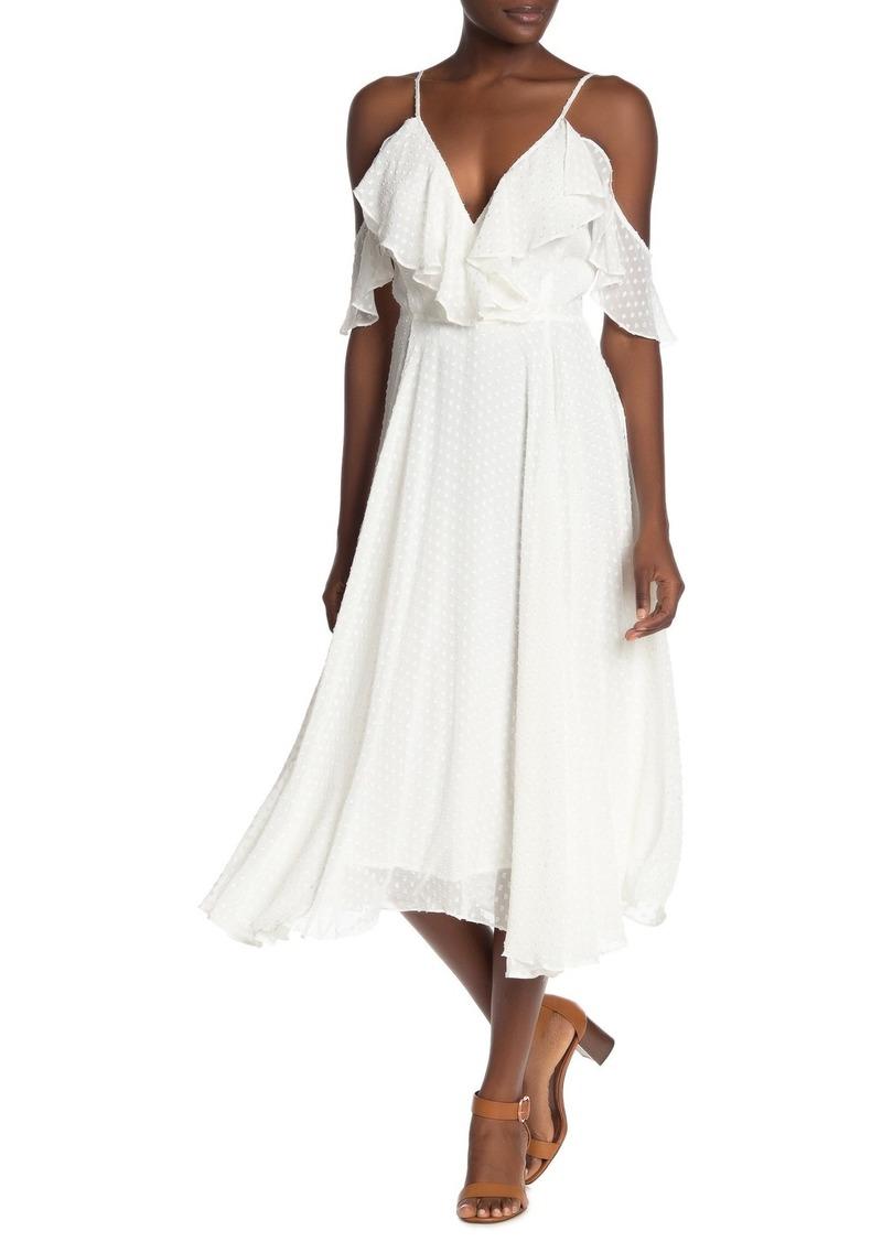 Yumi Kim Nolita Cold Shoulder Midi Dress