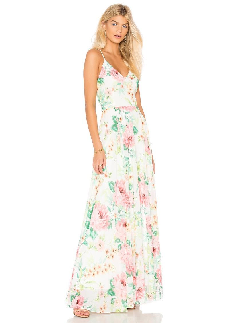 7b94c6f5ae38 Yumi Kim Peace and Love Maxi Dress