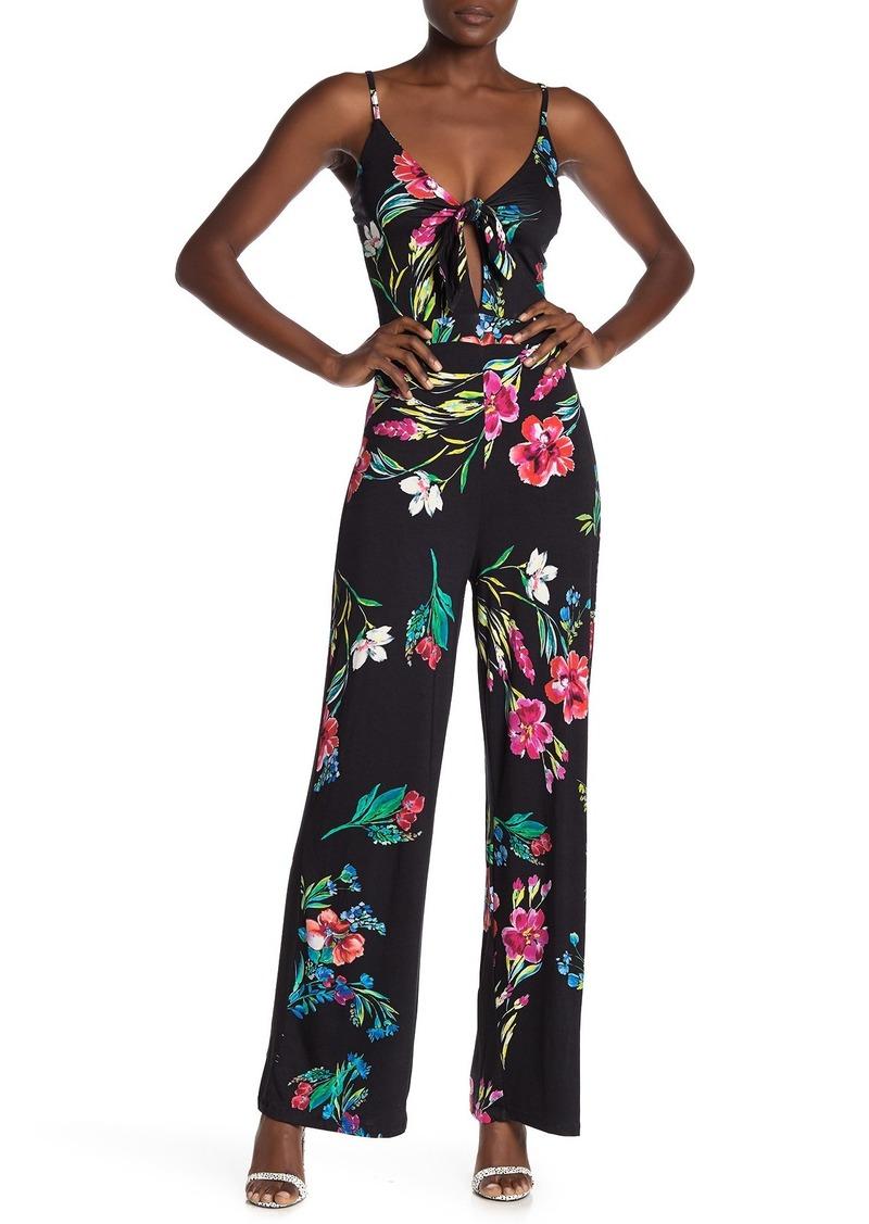 Yumi Kim Seaside Floral Tie Front Jumpsuit
