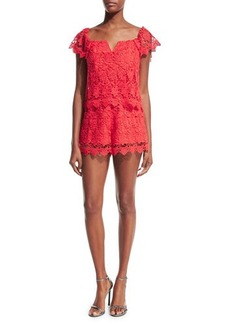 Yumi Kim Best Day Lace Romper