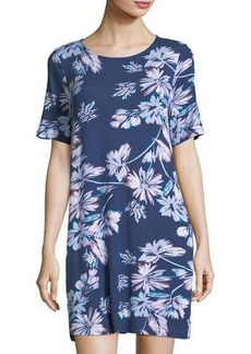 Yumi Kim Floral-Print Jersey Shift Dress