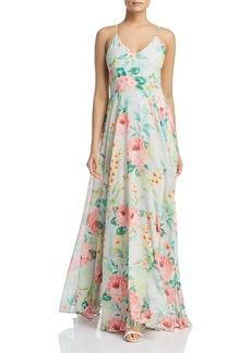 Yumi Kim Peace & Love Floral-Print Maxi Dress