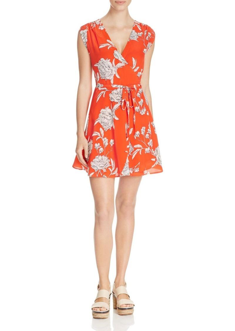 Yumi Kim Soho Mixer Floral Print Wrap Dress