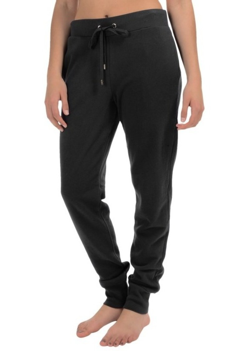 Yummie Tummie Drawstring Cuffed Sweatpants (For Women)
