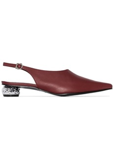 Yuul Yie Lina 30mm slingback pumps